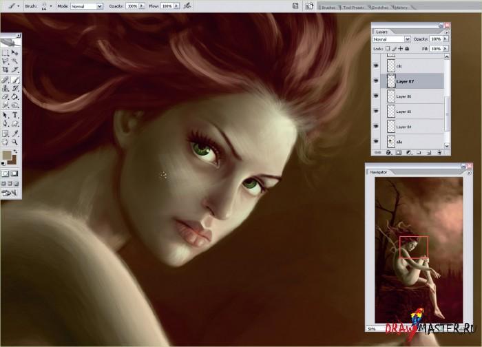 Волшебные видения - Как нарисовать фею