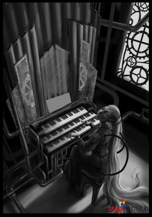 """Как рисовалась """"Симфония вечного ожидания"""""""
