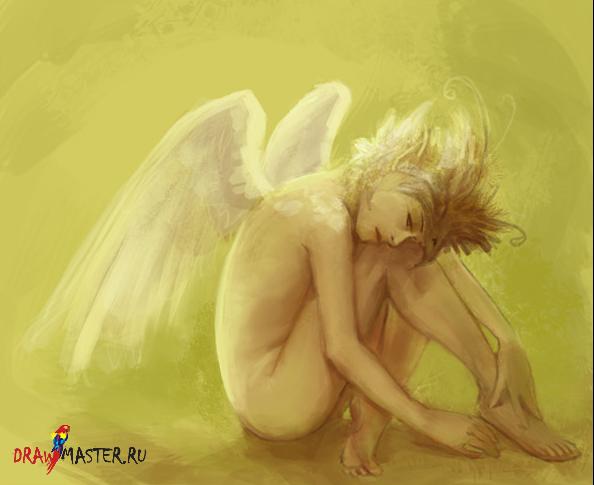 Как нарисовать Ангела