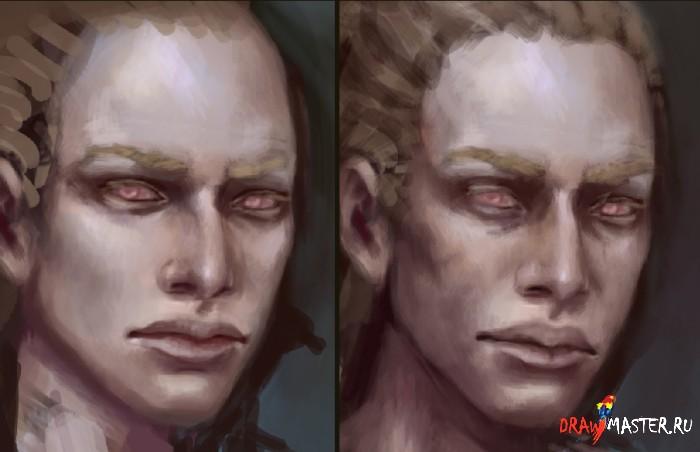 Как нарисовать Лицо. Мини-урок