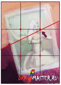 Значение перспективы - как рисовалась картина «Оставь свой след в Стране Чудес»