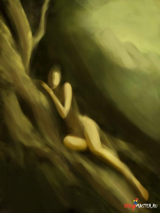 Как нарисовать картину «Царство Теней»