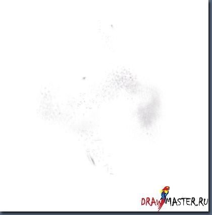 "Как рисовалась картина ""Снегопад"""