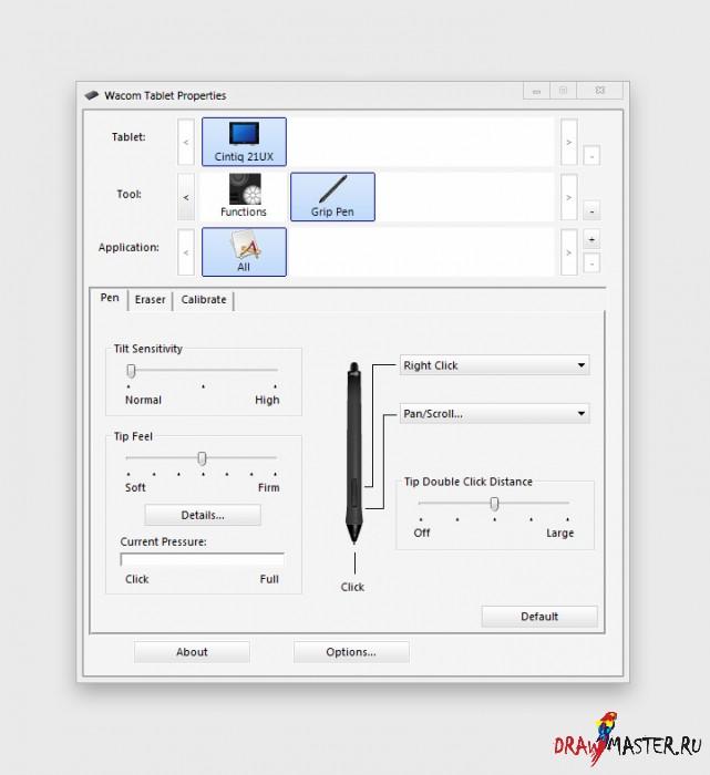 Графические планшеты WACOM. Инструкция и Комментарии