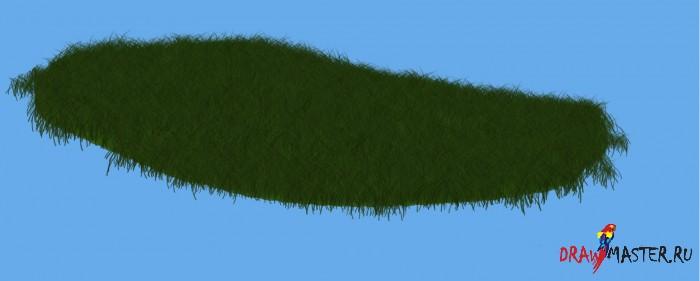 Как правильно использовать кисть Травы (Grass brush) в Photoshop