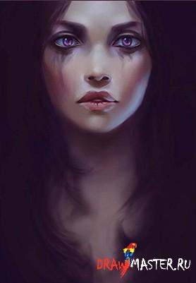 Как нарисовать Эмоциональный портрет