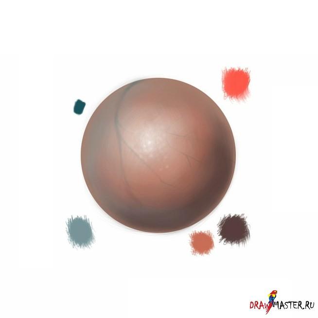 Как нарисовать Реалистичную кожу
