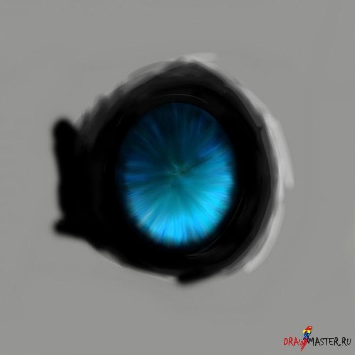 Как нарисовать глаза Динозавра