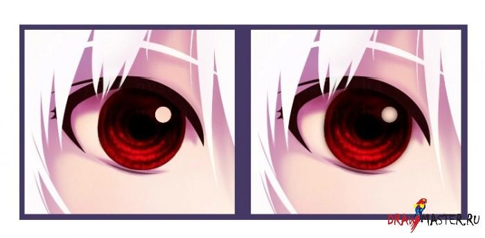 Как нарисовать Глаза в стиле аниме