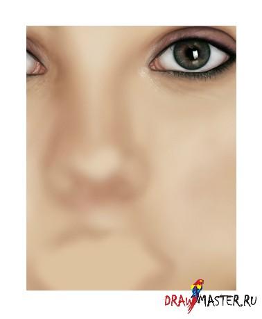 Как нарисовать Портрет Скарлет Йохансон – Часть 1