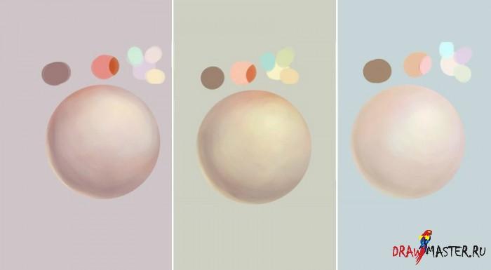 Урок по рисованию кожи