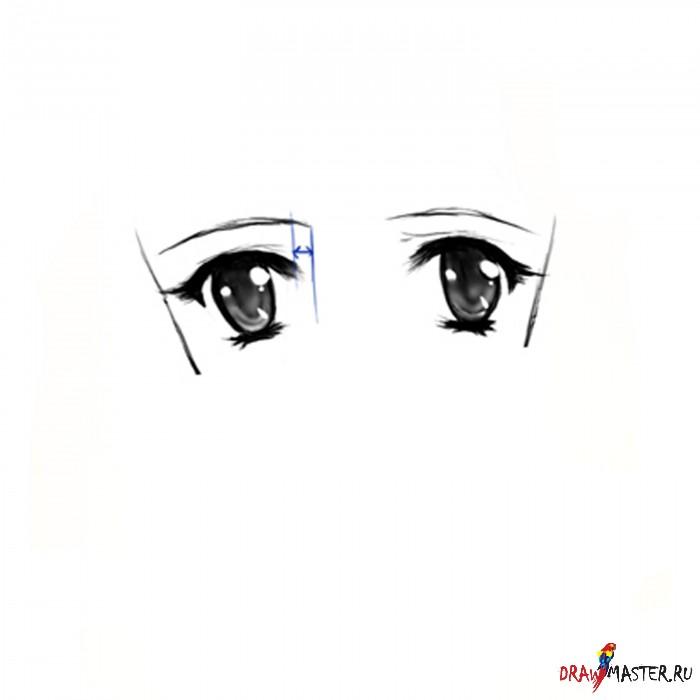 Как нарисовать Лицо в стиле аниме