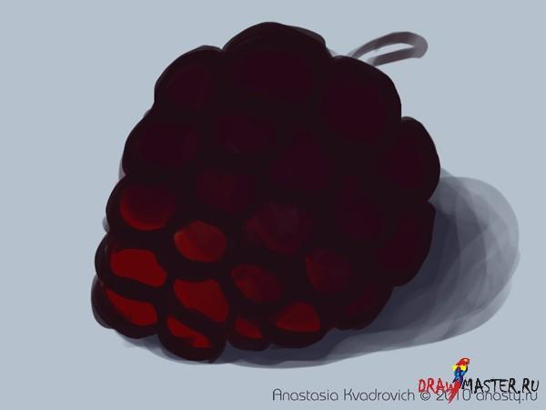 Рисуем ежевику