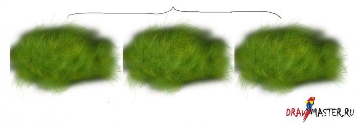 Как нарисовать Цветочную поляну