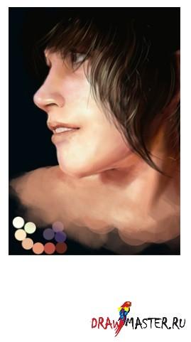 Рисуем реалистичную кожу