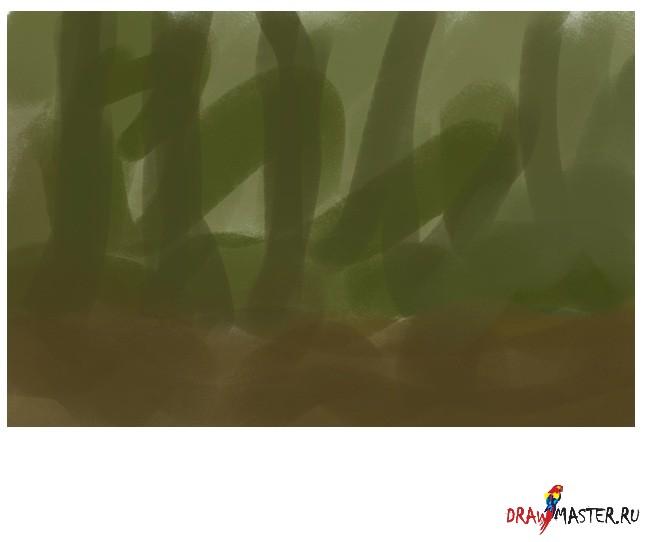 """Создание рисунка """"Цветок-людоед"""""""