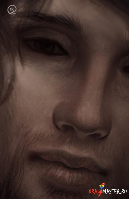 Создаем мужской портрет