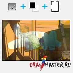 Как рисовать с помощью Корректирующих Слоев