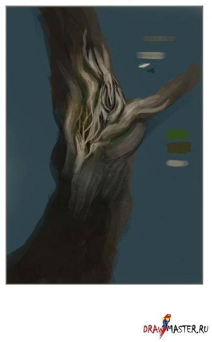 Как нарисовать сказочное дерево