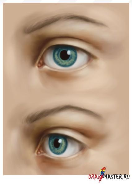 Рисуем реалистичный Глаз