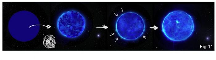 Как рисовать Космос (Часть 1) – Звезды и Туманности