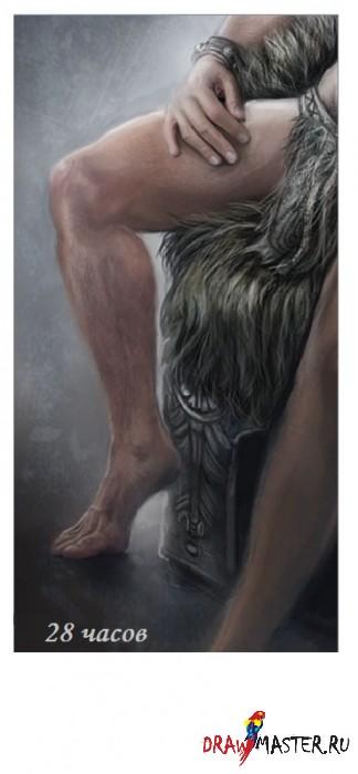 Рисуем мужчину - Пошаговый урок