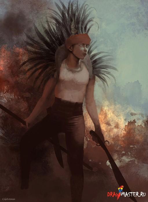 Портрет воина