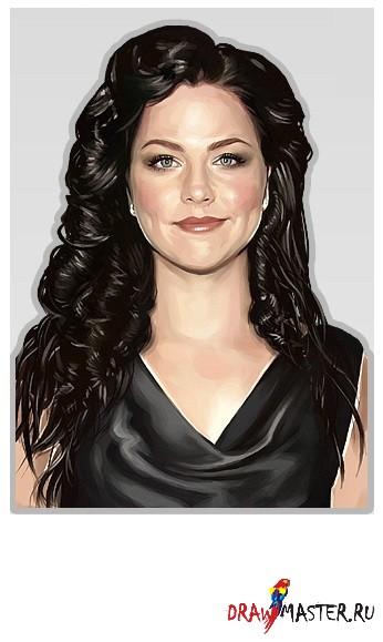 Урок по цифровому рисованию в Adobe Photoshop: Женский Портрет
