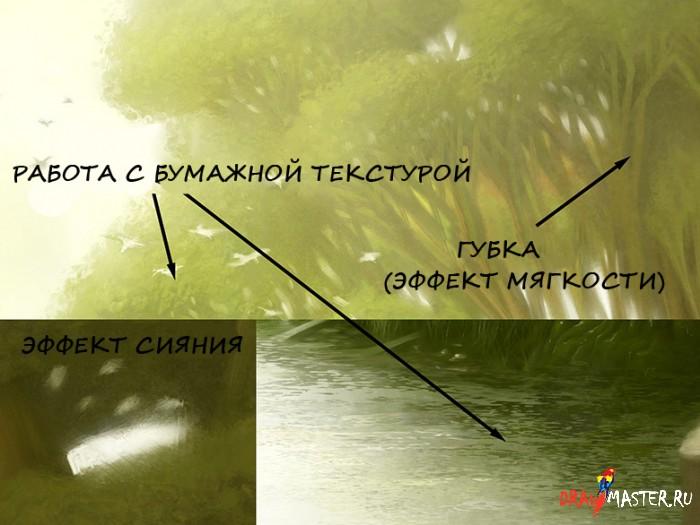 Создание картины «Месть»