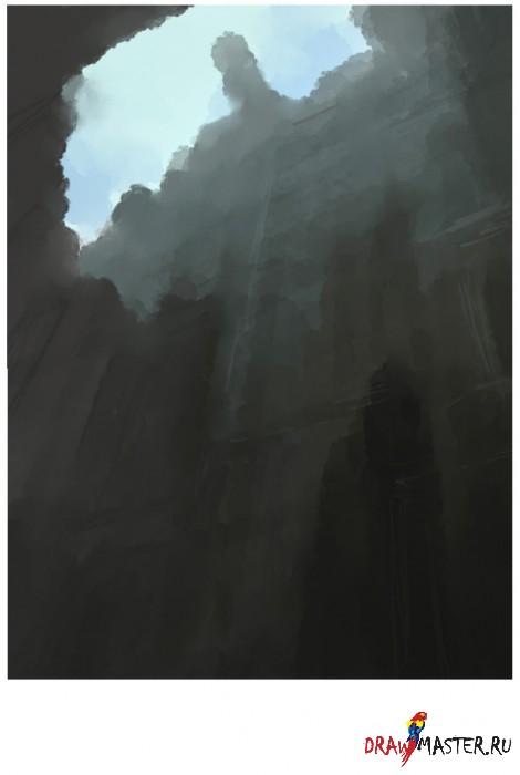 """Создания рисунка в стиле """"Быстрое Рисование"""" (Speed Painting)"""