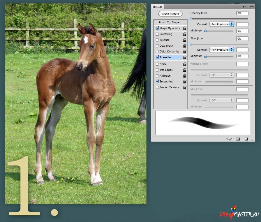 Як намалювати коня - уроки малювання