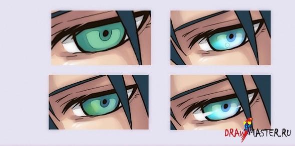 Техника мягкого тонирования в аниме