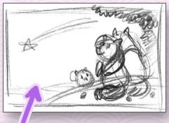 """Как рисовалась картина """"Загадай желание, Шугакьюб!"""""""