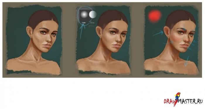 Как нарисовать лицо