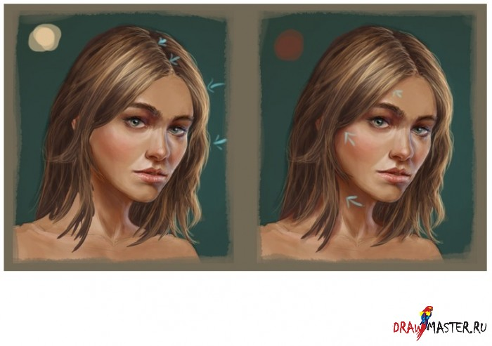 Рисуем Волосы, как рисовать волосы в фотошопе