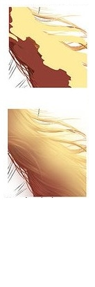 Раскрашиваем реалистичные волосы