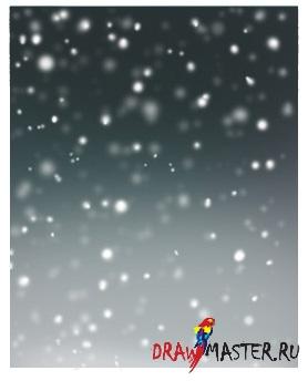 Как нарисовать Снег