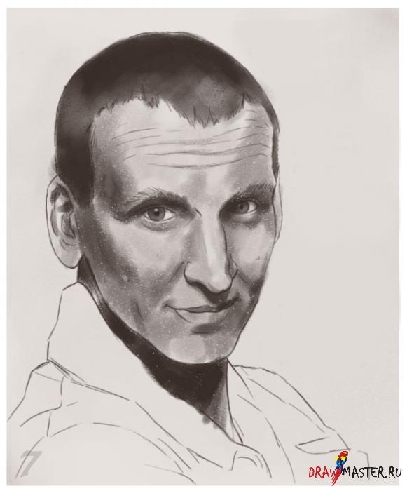 Как нарисовать Карандашный портрет в Photoshop