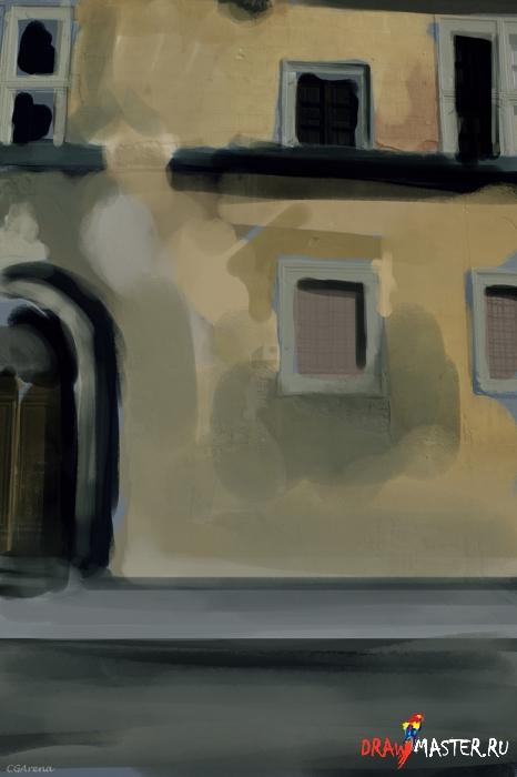 Как нарисовать иллюстрацию «Расчисти улицы»