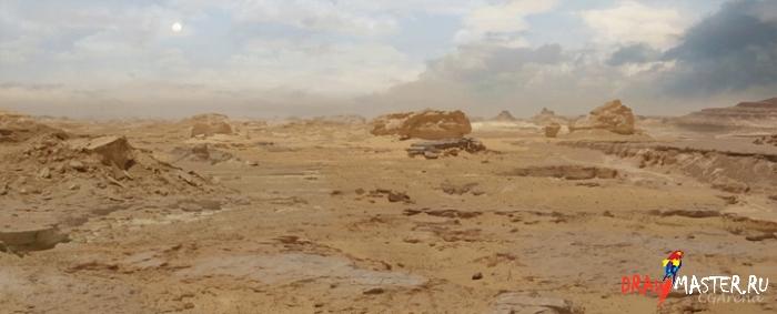 Как нарисовать иллюстрацию «Пересекая Пустыню»