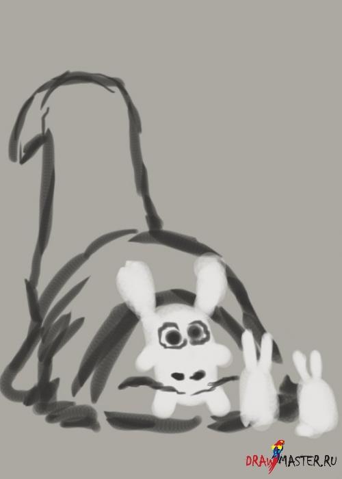 Рисуем «Пожирателя кроликов»
