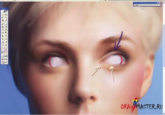 Мастер-класс от Marta Dahlig «Как рисовать лица»