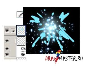 Как нарисовать Фейерверк/Искры