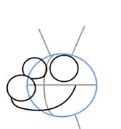 Как нарисовать Северного оленя Рудольфа