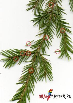 Как нарисовать Новогоднюю / Рождественскую Елку