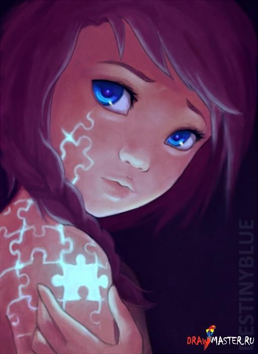 Вдохновение: художница DestinyBlue