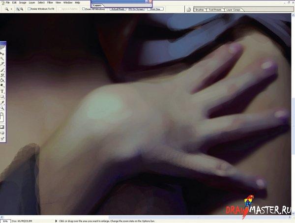 Как рисовать реалистичные Руки (мастер-класс от Marta Dahlig)