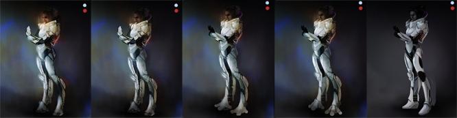 Как создать образ девушки в стиле Sсi-Fi