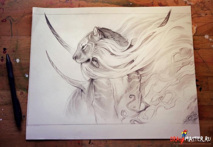 Вдохновение: художница AlectorFencer