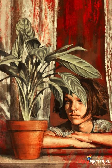 Вдохновение: художница Alice X. Zhang